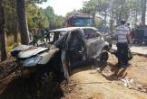 Nghi vấn cha châm lửa đốt xe tự tử cùng con 5 tuổi