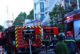 Cháy lớn sáng mùng 5 Tết, ngôi nhà 2 tầng bị lửa thiêu rụi
