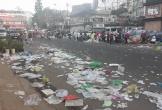Hình ảnh khu phố trung tâm của Đà Lạt ngập rác sau Tết và bài học về ý thức tự giác