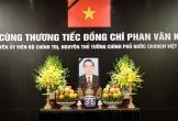 Những hình ảnh đầu tiên trong lễ tang nguyên Thủ tướng Phan Văn Khải