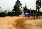 Hà Tĩnh: Doanh nghiệp 'móc nối' chính quyền khai thác đất sai phép?