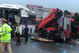 Xe khách đâm xe PCCC trên cao tốc: Cả hai xe đều có lỗi