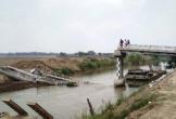 Cầu tiền tỷ chưa kịp khánh thành đã… sập xuống sông