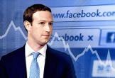 Cổ phiếu Facebook tiếp tục lao dốc, gần 50 tỷ USD vốn hóa đã 'bốc hơi'