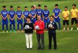 Tổng thống Hàn Quốc giao lưu với U23 Việt Nam