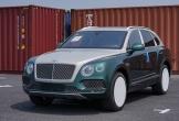 SUV siêu sang Bentley Bentayga màu cực hiếm bất ngờ về Việt Nam
