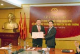 Trao Quyết định của Thủ tướng bổ nhiệm ông Lê Công Thành giữ chức vụ Thứ trưởng Bộ TN&MT