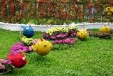 Tận dụng đồ cũ bỏ đi để trang trí khu vườn đẹp như mơ
