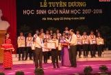 Hà Tĩnh tuyên dương học sinh giỏi tỉnh, học sinh giỏi quốc gia