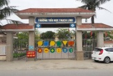 """Hà Tĩnh: Những """"bất thường"""" tại công trình nhà đa chức năng trường Tiểu học Thạch Linh"""