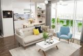 Căn hộ chung cư đẹp xuất sắc đến từng chi tiết, khiến nhà mặt đất cũng phải ghen tỵ