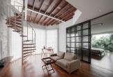 Cầu thang xoắn, giải pháp hiện đại và tiện lợi cho nhà chật chội