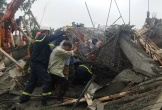 Sập sàn bê tông, bảy công nhân bị thương