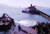 Trục vớt tàu hàng chìm dưới biển gần 6 tháng, hàu bám khắp nơi