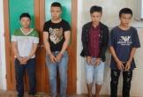 Hà Tĩnh bắt bốn thanh niên cầm kiếm chặn xe tải cướp tiền