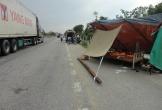 Phơi lúa trên Quốc lộ 1A, một phụ nữ bị xe tải tông tử vong tại chỗ