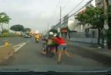Kéo lê cô gái trên đường khi bị phát hiện hành vi trộm cắp
