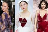 """Vũ Ngọc Anh diện váy mỏng tang, Văn Mai Hương hoá cô dâu """"bị lỗi"""""""