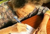 Cụ bà vẽ 1.000 trái tim đốt cho chồng đã mất trong ngày sinh nhật 105 tuổi để ông biết 'ngày nào, bà cũng nhớ ông'