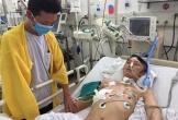 Hà Tĩnh: Con trai tai nạn nguy kịch, cha nghèo chỉ biết rơi nước mắt