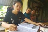 Xin nuôi tiếp giấc mơ đến trường của cô học trò nhỏ có bố bại liệt ở Hà Tĩnh