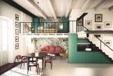 Căn nhà trang trí màu sắc tuyệt đẹp theo phong cách Ý