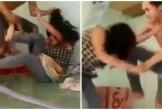 Dân mạng bức xúc clip chồng tát vợ đang mang bầu liên tiếp khi ra quán game gọi về ăn cơm