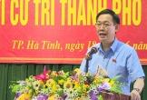 Phó Thủ tướng Vương Đình Huệ tiếp xúc cử tri thành phố Hà Tĩnh