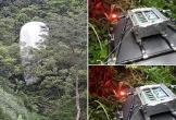 Vật thể lạ chứa máy quay từ trên trời rơi xuống rừng Hà Giang