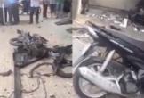 Xe máy phát nổ ở công an phường, 1 nữ công an bị thương