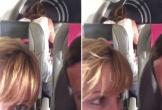 Đôi nam nữ bị ghi hình khi đang quan hệ trên máy bay
