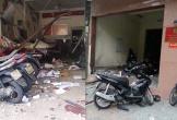 Điều tra vật liệu gây ra vụ nổ tại trụ sở công an phường