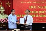 Ông Nguyễn Thái Học làm phó Ban Nội chính Trung ương