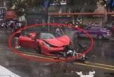 Người phụ nữ phá tan siêu xe Ferrari triệu đô trong nháy mắt