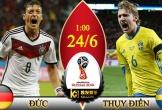 Chuyên gia chọn kèo Đức vs Thụy Điển: Đức ăn 1-2 bàn