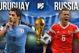 Uruguay vs Nga: Quyết chiến vì ngôi đầu