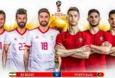 Iran vs Bồ Đào Nha: Người Bồ thắng tối thiểu