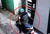 Tên trộm xe tay ga bẻ khóa rồi phóng lên xe chạy nhanh như chớp
