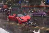 Nữ tài xế biến siêu xe Ferrari 15 tỉ thành sắt vụn