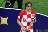 Modric nhận Quả Bóng Vàng World Cup 2018