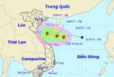 Áp thấp nhiệt đới đang hướng vào Thanh Hóa - Hà Tĩnh