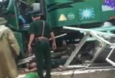 Xe đầu kéo tự trôi khiến trung tá biên phòng tử nạn