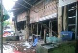Quán bia cháy lớn trong mưa, 1 phụ nữ tử vong