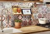 Gạch bông cổ điển hòa quyện cùng phong cách hiện đại