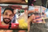 Kết quả điều tra bất ngờ vụ lái xích lô trả 900.000 đồng tiền âm phủ cho khách Tây