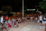 Video người dân Hà Tĩnh thức xuyên đêm chờ mua vé chung kết VTV Cup