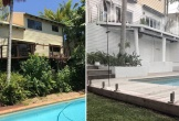Người mẹ tự mình cải tạo sân vườn, tiết kiệm 10.000 đôla