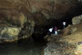 Hang động đầy thạch nhũ lấp lánh vàng ở miền Tây Nghệ An