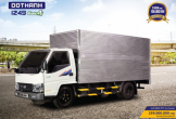 Đô Thành IZ49 EURO4 sản phẩm nâng cấp chất lượng cho dòng xe tải nhẹ