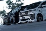 Toyota Alphard thêm dị biệt với gói độ ngoại thất của Rowen